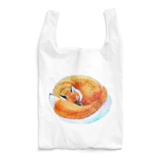 ねているきつね Reusable Bag