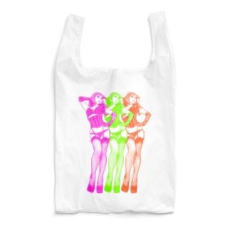 トリプル・ウノ(ネオン) Reusable Bag