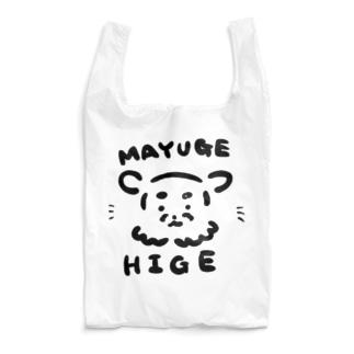 ひげまゆげ Reusable Bag