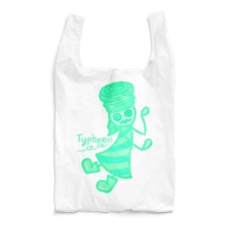 ウェザーず*タイフウさん Reusable Bag
