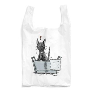洗われにゃんこ Reusable Bag