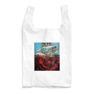薔薇とピノ🐸 Reusable Bag