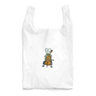 チェロねずみさん Reusable Bag