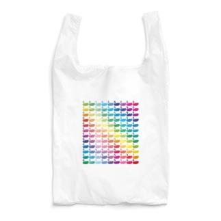 レインボー ビビット×パステル(Ether Potion) Reusable Bag