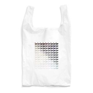 【色見本用】カスケード ブラック×ホワイト(Ether Potion) Reusable Bag