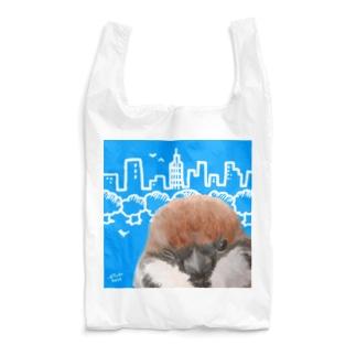 スズメエコバッグ Reusable Bag