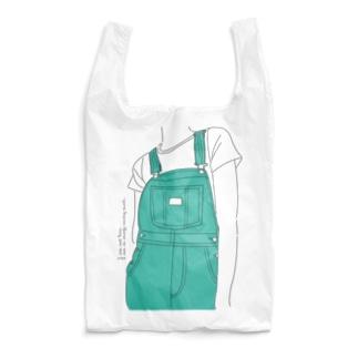 サロペット(グリーン) Reusable Bag