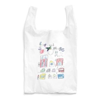 car and house Reusable Bag