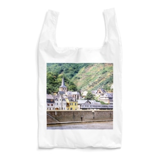 ドイツ:ライン河畔の風景写真 Germany: view of the riverside of Rhein Reusable Bag