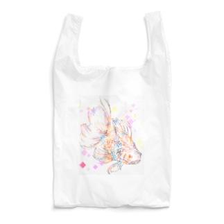 虹色金魚 Reusable Bag