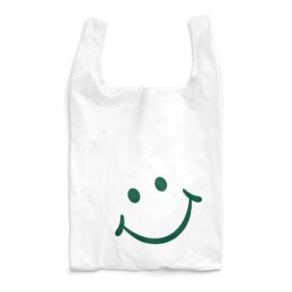 SMILE_GREEN Reusable Bag