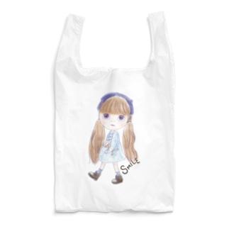 お人形-SMILE Reusable Bag