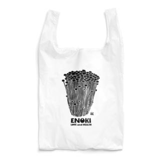 みほりっくの黒えのき Reusable Bag