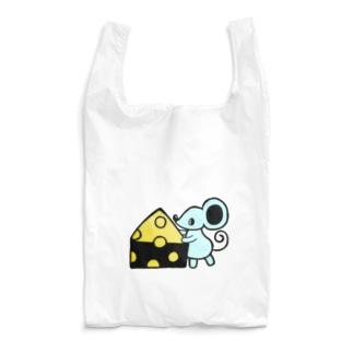 ネズミとチーズ Reusable Bag