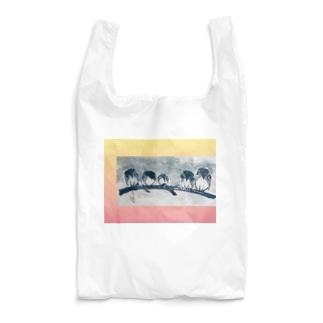 フクロウfamily Reusable Bag