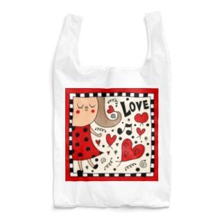riekim Love Reusable Bag
