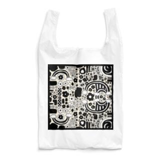 riekim モノクロ Reusable Bag