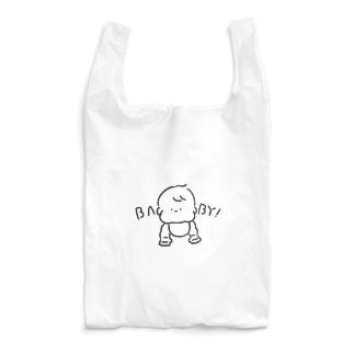むちむちギャラリーのもちもちベイビー Reusable Bag