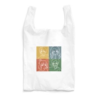 気だるげ四銃士 Reusable Bag
