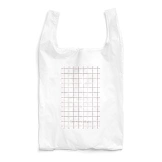 チェックピンク Reusable Bag