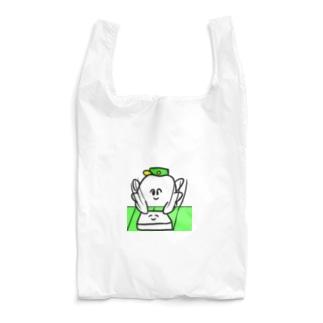 歯のマンガのはんぺんぺちぺち Reusable Bag
