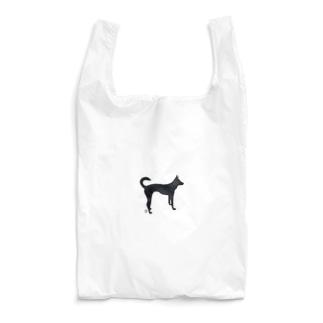 犬(シルエット) Reusable Bag