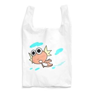 半魚人の遠泳 Reusable Bag