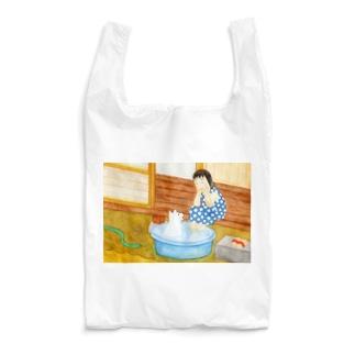 シロと歩けば 初夏 Reusable Bag