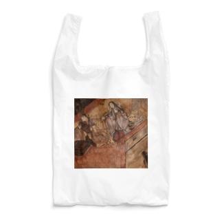 源氏物語絵巻模写 Reusable Bag