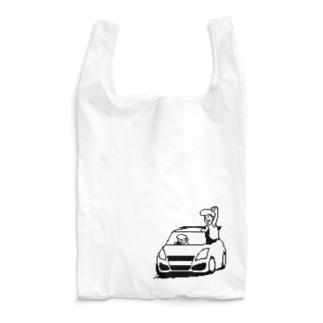 不遇の32(モノクロ) Reusable Bag
