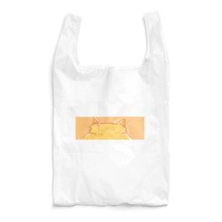白枠付き!Tra ねこみみマーク Reusable Bag
