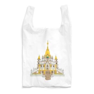 ベトナムデザインのVIETSTAR★のブーロン寺院 Reusable Bag