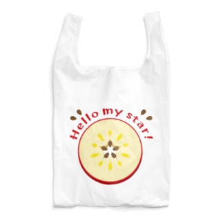 CT105 輪切りのリンゴ Reusable Bag