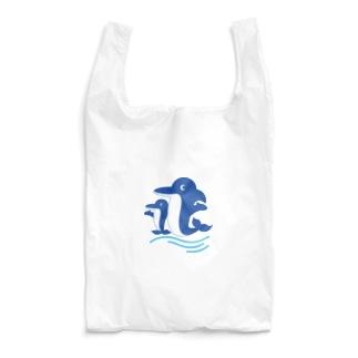 イルカの親子 Reusable Bag