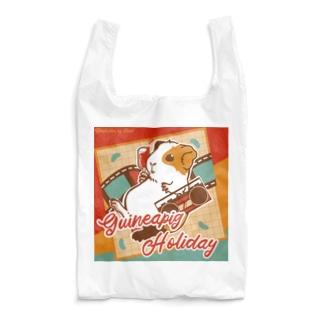 Guineapig Holiday Reusable Bag