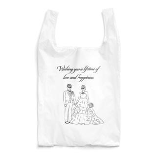Wishing you a lifetime of love and happiness. Reusable Bag