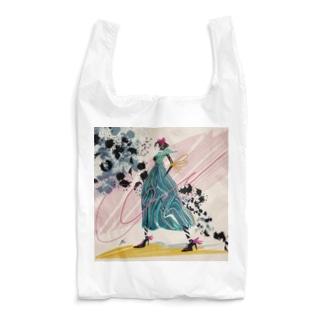 ミドリの女性 Reusable Bag