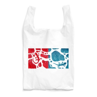 ヤモリのジョンとマリー Reusable Bag