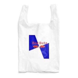 Red Buta エコバッグ Reusable Bag