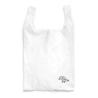 鳥と魚のねこぜちゃん Reusable Bag