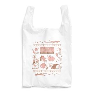 うさぎたたえ柄 Reusable Bag