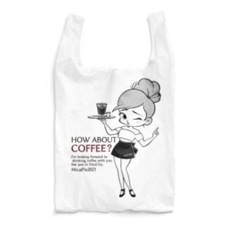 MicaPix/SUZURI店のCoffee&Girl 1st Reusable Bag