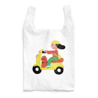 犬運搬 -バイク Reusable Bag
