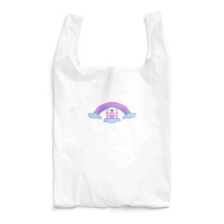 a secret castle Reusable Bag