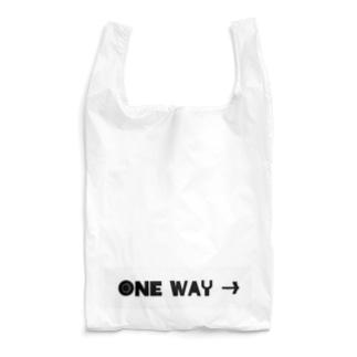 ONE WAY→ Reusable Bag