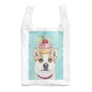 カップケーキなトト チョークアート Reusable Bag