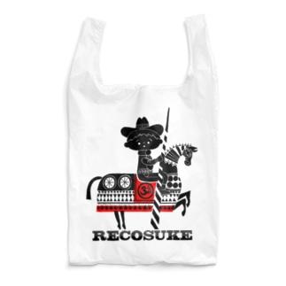 エコバッグ(レコードハンター レコスケくん) Reusable Bag