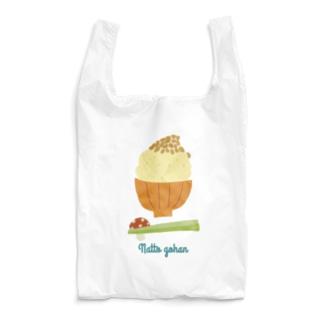 natto gohan Reusable Bag