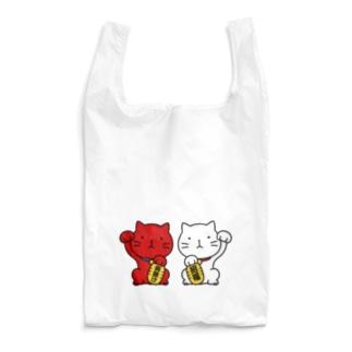招き猫! Reusable Bag