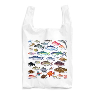 魚図鑑エコバッグ Reusable Bag